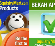 Set of banners for Squishy Mart Store