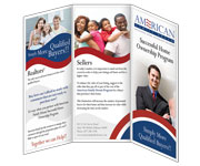 Brochures design - American Family Dream  Brochure