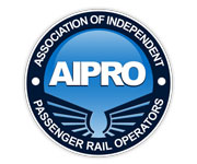 logo design and development - AIPRO, Association of Independent Passenger Rail Operators Logo