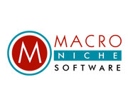 logo design and development -Logo for Macro Niche Software
