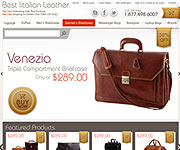 web site development - Best Italian Leather