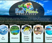 web site development - Best Maui Activities Traveling website - wordpress