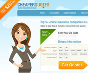 web site development - Cheaper Quotes, auto insurance - http://cheaper-quotes.com/