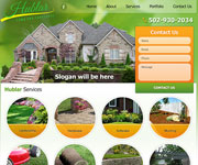 web site development - Hublar - Lawn and Landscape