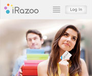 web site development - iRazoo, mobile version - http://www.irazoo.com/