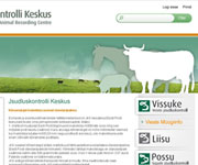 web site development - Estonian Animal Recording Centre