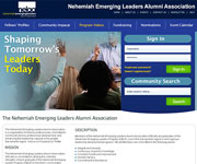 web site development - nelaa, nehemiahemergingleaders, alumni association